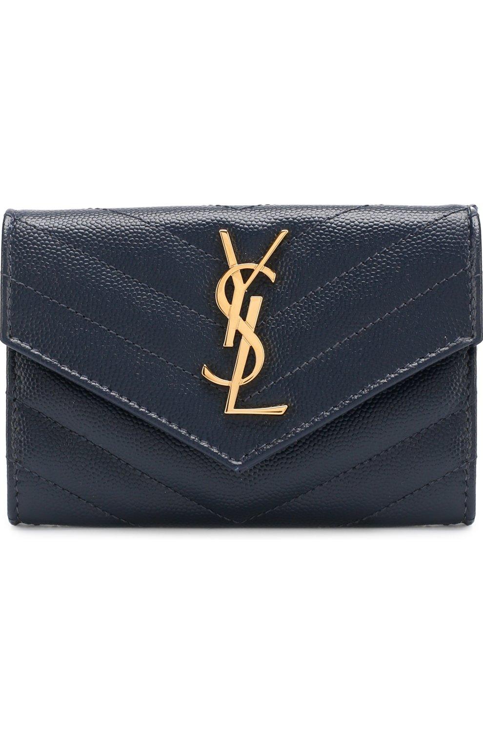 Кожаный кошелек Monogram | Фото №1