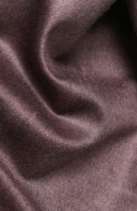 Шелковый шарф с бахромой | Фото №2