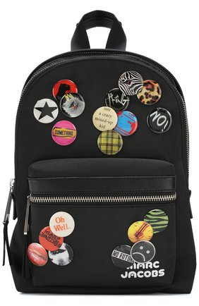 Рюкзак Trek Pack medium Marc Jacobs черный | Фото №1