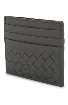 Кожаный футляр для кредитных карт с плетением intrecciato | Фото №2