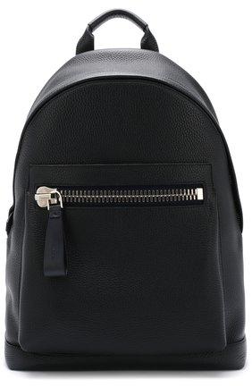 Кожаный рюкзак Buckley с внешним карманом на молнии | Фото №1
