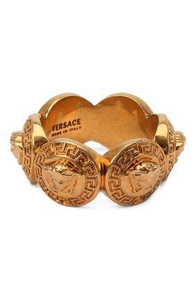 Женское кольцо medusa VERSACE золотого цвета, арт. DG5G412/DJMT | Фото 1 (Статус проверки: Проверена категория, Проверено; Материал: Металл)