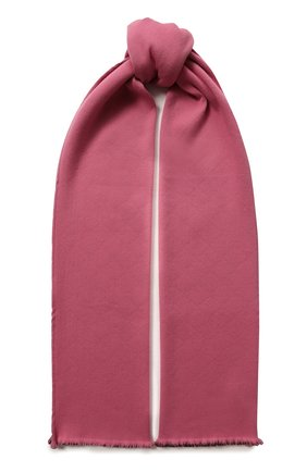 Мужские шарф из смеси шерсти и шелка GUCCI розового цвета, арт. 528946/3G744 | Фото 1