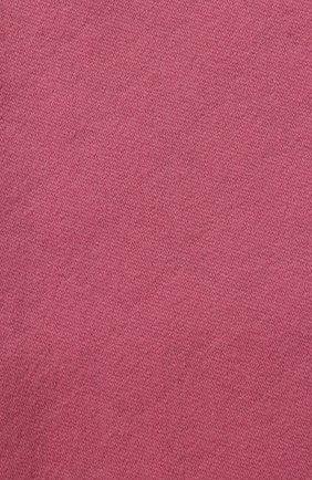 Мужские шарф из смеси шерсти и шелка GUCCI розового цвета, арт. 528946/3G744 | Фото 2