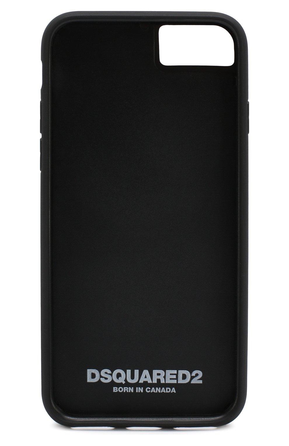 Чехол для IPhone 7/8 с логотипом бренда Dsquared2  | Фото №2