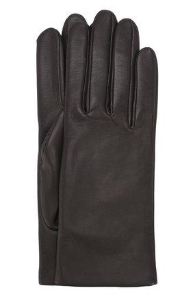 Кожаные перчатки с подкладкой из кашемира и шерсти | Фото №1