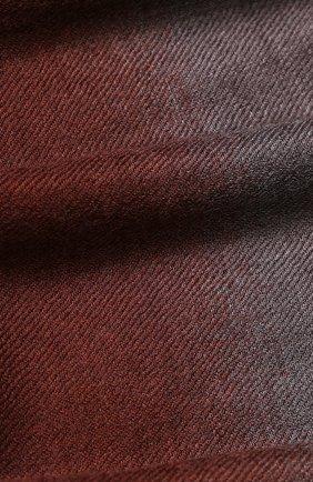Кашемировый шарф с необработанным краем | Фото №2