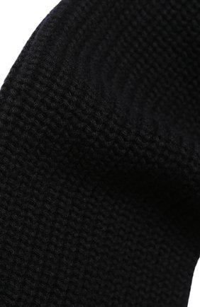 Мужской кашемировый шарф DOLCE & GABBANA черного цвета, арт. GX301T/JAWEZ | Фото 2