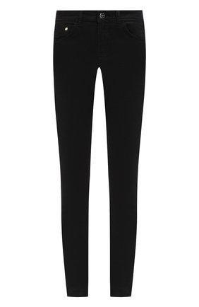 Однотонные джинсы-скинни Iceberg черные   Фото №1