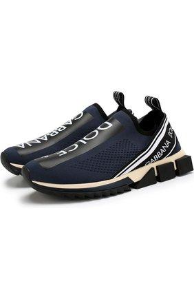 Текстильные кроссовки Sorrento с принтом   Фото №1