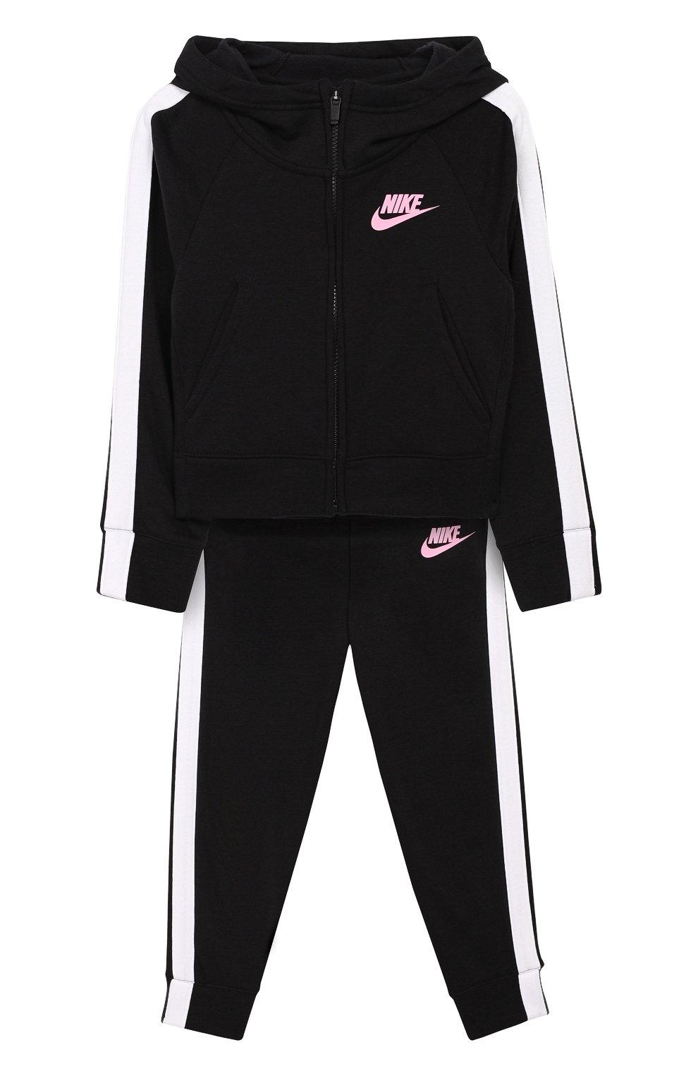 bdd5bdc2 Спортивный костюм NIKE черного цвета — купить за 4480 руб. в ...