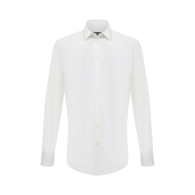 Хлопковая сорочка с воротником кент Dolce & Gabbana
