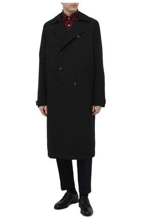 Мужской кожаные дерби H`D`S`N BARACCO черного цвета, арт. 58221.1* | Фото 2