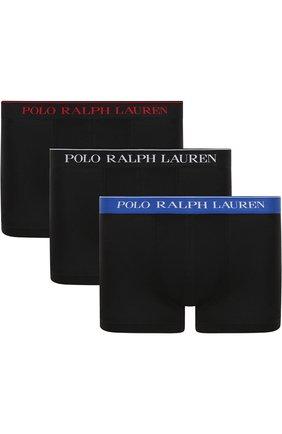 Комплект из трех хлопковых боксеров с широкой резинкой | Фото №1