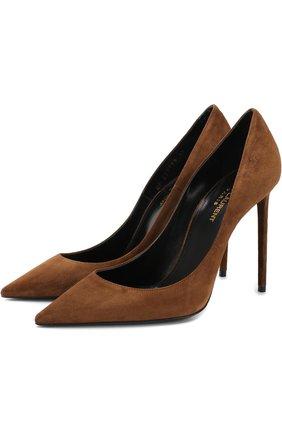 Замшевые туфли Zoe на шпильке | Фото №1