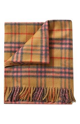 Детского кашемировое одеяло BURBERRY разноцветного цвета, арт. 4076624 | Фото 1