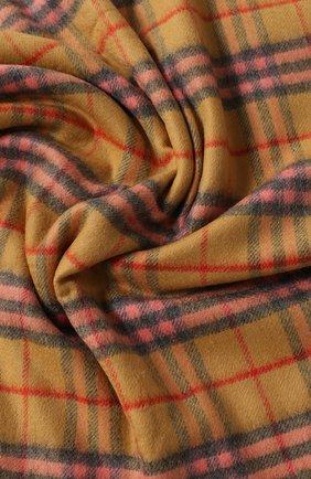 Детского кашемировое одеяло BURBERRY разноцветного цвета, арт. 4076624 | Фото 2