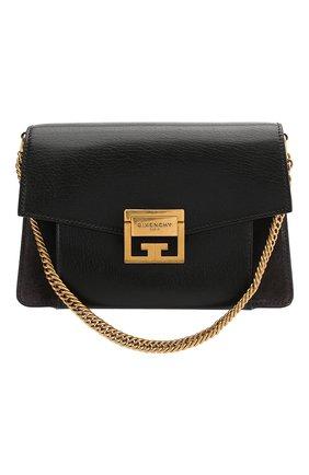 Женская сумка gv3 small GIVENCHY темно-серого цвета, арт. BB501CB033 | Фото 1