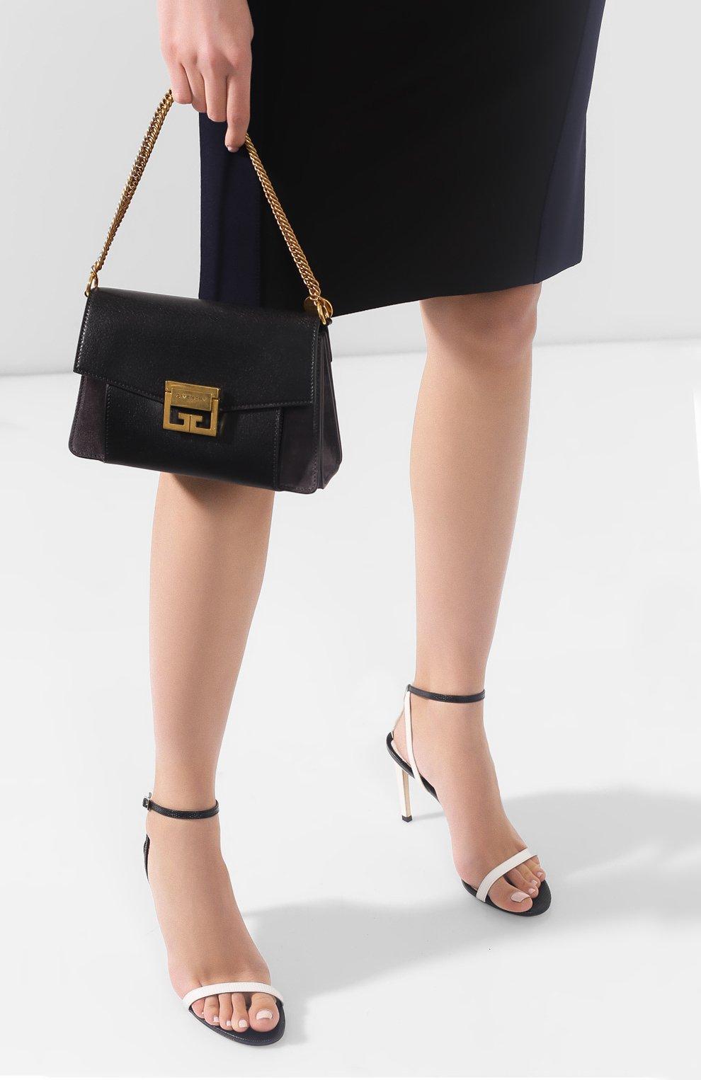 Сумка GV3 small Givenchy темно-серая цвета | Фото №2