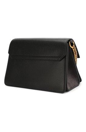 Женская сумка gv3 small GIVENCHY темно-серого цвета, арт. BB501CB033 | Фото 3