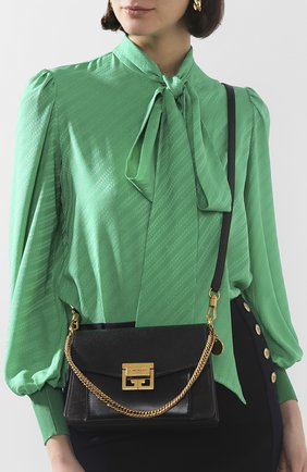 Сумка GV3 small Givenchy темно-серая цвета | Фото №5