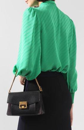 Женская сумка gv3 small GIVENCHY темно-серого цвета, арт. BB501CB033 | Фото 7