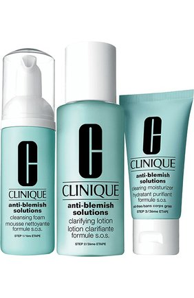 Набор Acne Solutions Clear Skin System Starter Kit Clinique | Фото №1