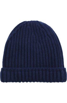 Кашемировая шапка фактурной вязки | Фото №1