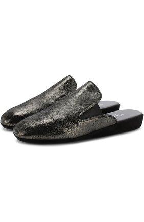 Домашние туфли из кожи | Фото №1