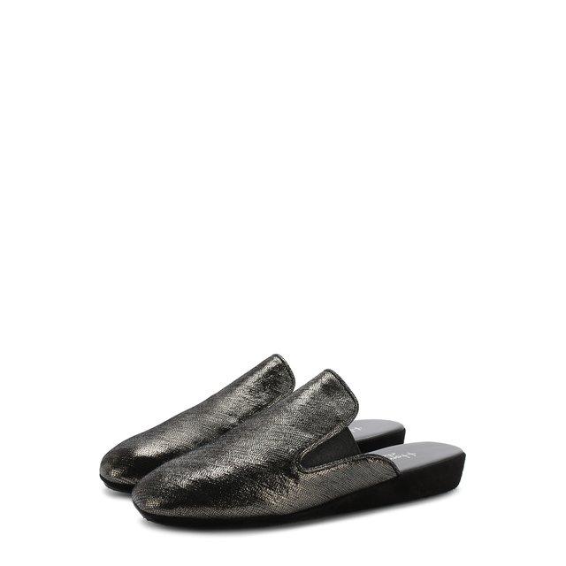 Домашние туфли из кожи Homers At Home