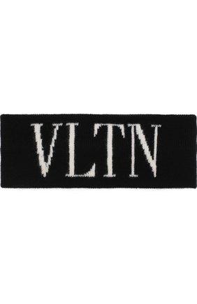 Повязка на голову из смеси шерсти и кашемира VLTN | Фото №1
