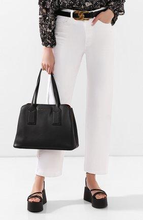Женская сумка-тоут the editor MARC JACOBS (THE) черного цвета, арт. M0012564 | Фото 2