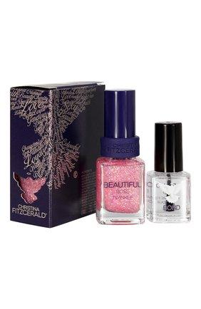 Лак для ногтей Beautiful + bond-подготовка Christina Fitzgerald | Фото №1