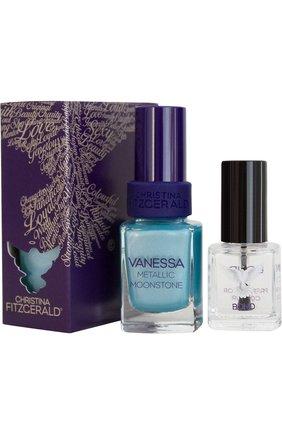 Лак для ногтей Vanessa Metallic + bond-подготовка Christina Fitzgerald | Фото №1