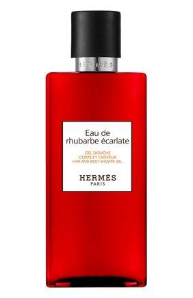Женского гель для душа eau de rhubarbe ecarlate HERMÈS бесцветного цвета, арт. 39503H | Фото 1