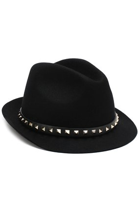 Фетровая шляпа Valentino Garavani Rockstud | Фото №1