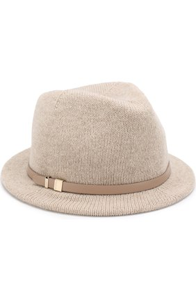 Кашемировая шляпа с ремешком | Фото №1