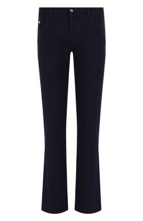 Мужские джинсы прямого кроя  ZILLI темно-синего цвета, арт. MCQ-00044-SUST1/R001 | Фото 1 (Материал внешний: Хлопок, Деним; Статус проверки: Проверено, Проверена категория; Длина (брюки, джинсы): Стандартные; Силуэт М (брюки): Прямые; Кросс-КТ: Деним)