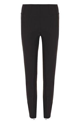 Однотонные укороченные брюки By Malene Birger черные   Фото №1