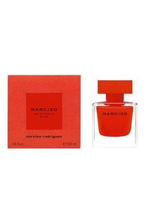 Женский парфюмерная водаnarciso rouge NARCISO RODRIGUEZ бесцветного цвета, арт. 884475BP   Фото 2