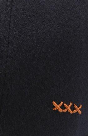 Мужской кашемировая бейсболка ZEGNA COUTURE темно-синего цвета, арт. Z4I82/B2I   Фото 3