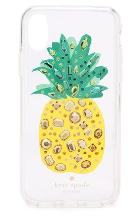 Чехол для iPhone X с декоративной отделкой | Фото №1