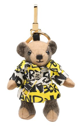 Брелок Thomas Bear в тренче с принтом Graffiti | Фото №1