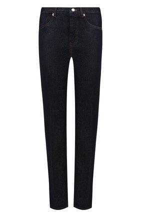 Укороченные джинсы прямого кроя