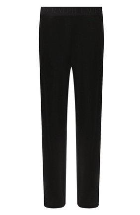 Мужские брюки POLO RALPH LAUREN черного цвета, арт. 714705167   Фото 1