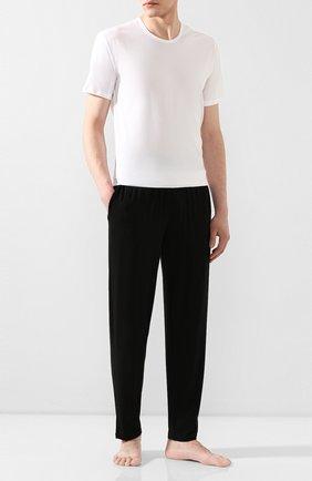Мужские брюки POLO RALPH LAUREN черного цвета, арт. 714705167   Фото 2