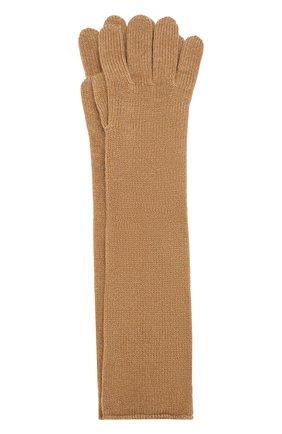 Удлиненные перчатки из кашемира | Фото №1