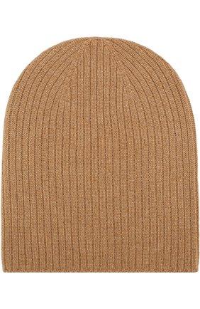 Вязаная шапка из кашемира Johnstons Of Elgin белого цвета | Фото №1