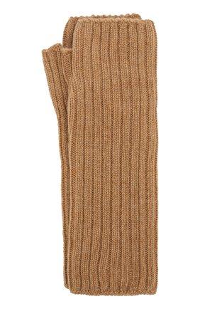 Вязаные митенки из кашемира | Фото №1