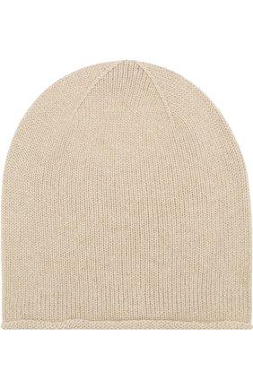 Кашемировая шапка Johnstons Of Elgin темно-серого цвета | Фото №1